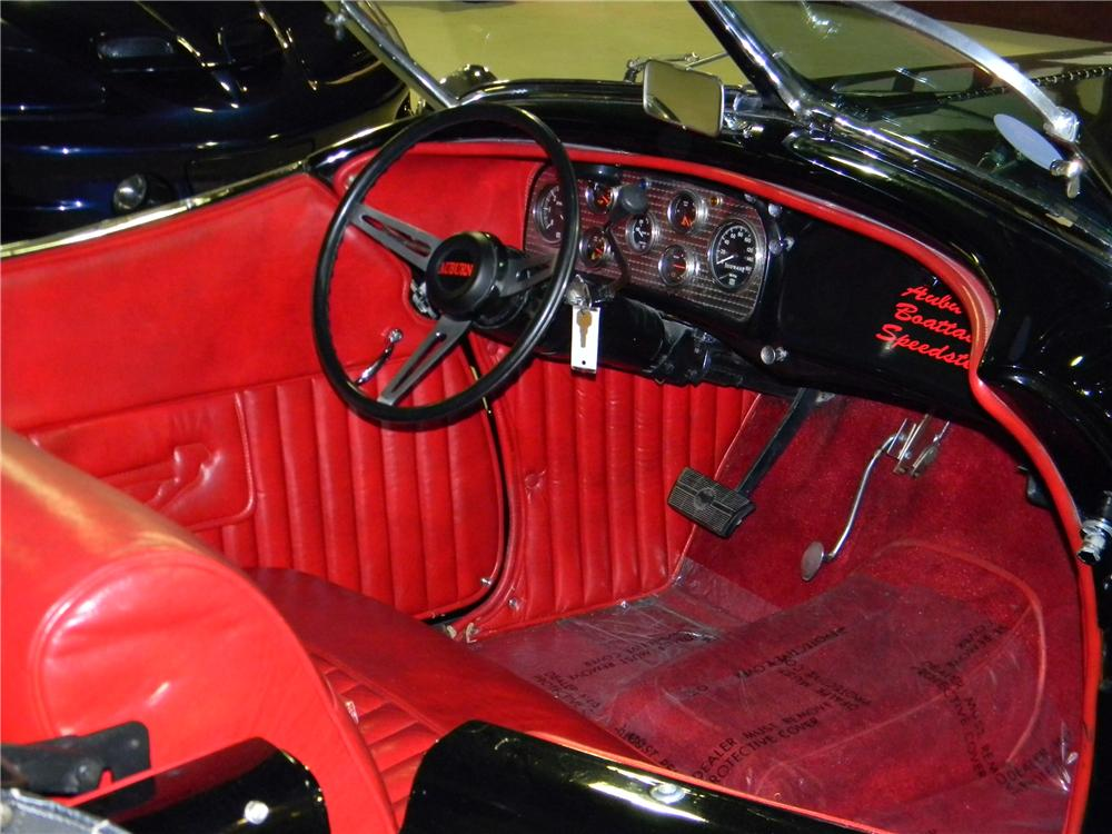 1936 AUBURN SPEEDSTER RE-CREATION - Interior - 157833