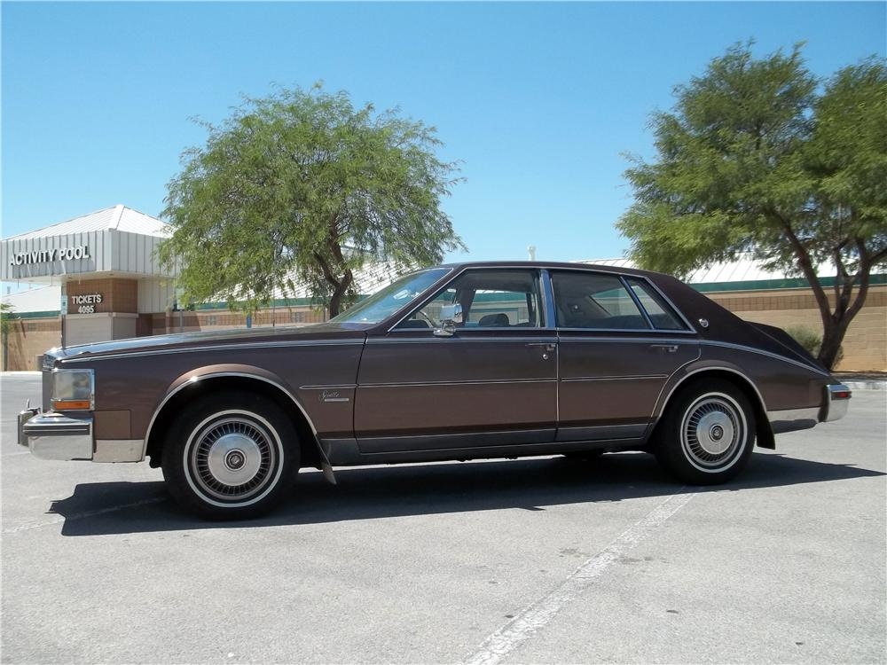 1980 CADILLAC SEVILLE 4 DOOR SEDAN - Front 3/4 - 157834