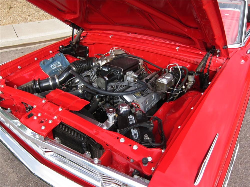 1964 FORD GALAXIE 500 CUSTOM CONVERTIBLE - Engine - 157837