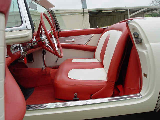 1956 FORD THUNDERBIRD CONVERTIBLE - Interior - 157845