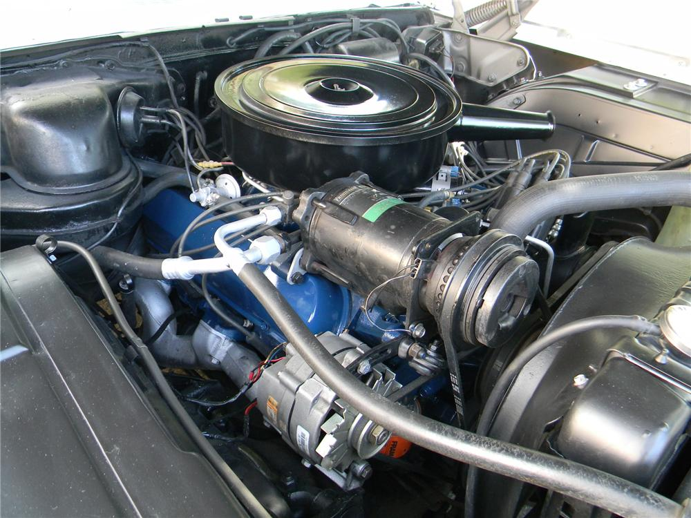 1964 CADILLAC DE VILLE CONVERTIBLE - Engine - 157846