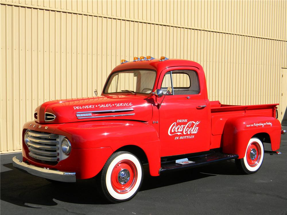 1948 FORD PICKUP - Side Profile - 157848