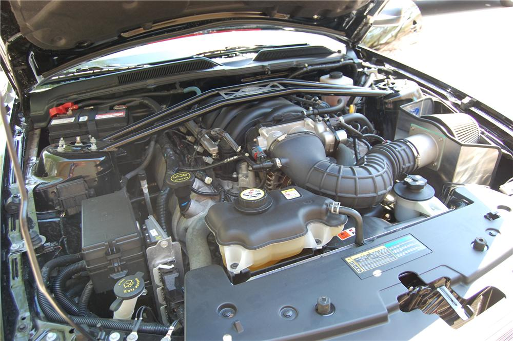 2008 SHELBY GT BARRETT-JACKSON EDITION - Engine - 157850