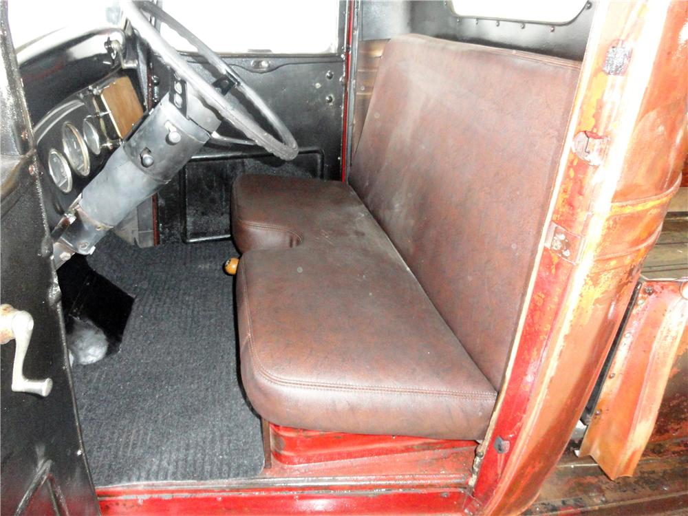 1937 CHEVROLET CUSTOM 1/2 TON PICK-UP - Interior - 157854