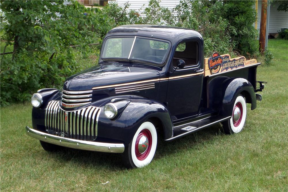 1941 CHEVROLET 1/2 TON PICK-UP - Front 3/4 - 157858