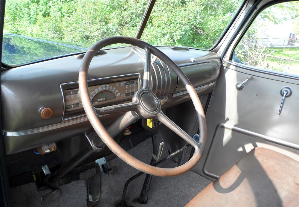 1941 CHEVROLET 1/2 TON PICK-UP - Interior - 157858