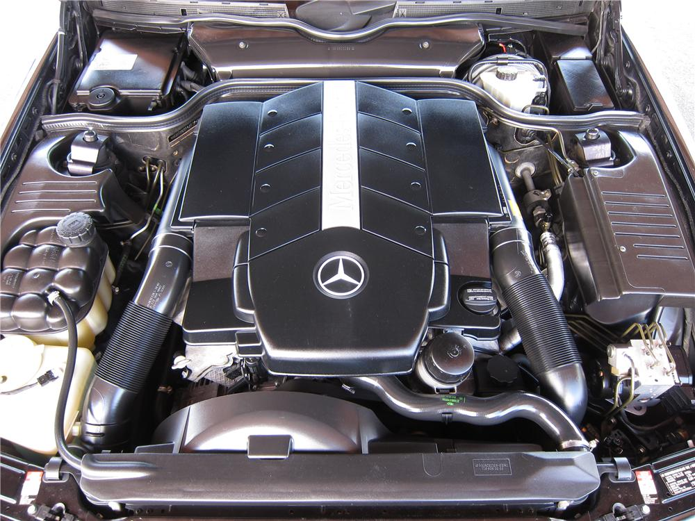 1999 MERCEDES-BENZ SL500 CONVERTIBLE - Engine - 157861