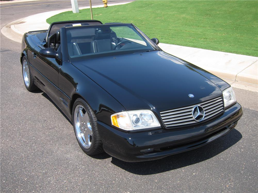 1999 MERCEDES-BENZ SL500 CONVERTIBLE - Front 3/4 - 157861