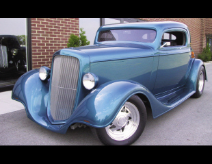 1935 CHEVROLET 3 WINDOW OUTLAW STREET ROD COUPE -  - 15787
