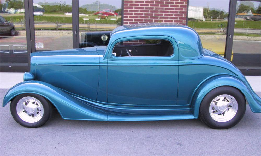 1935 chevrolet 3 window outlaw street rod coupe 15787