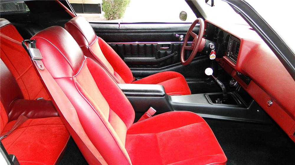 1979 CHEVROLET CAMARO Z/28 2 DOOR COUPE - Interior - 157872