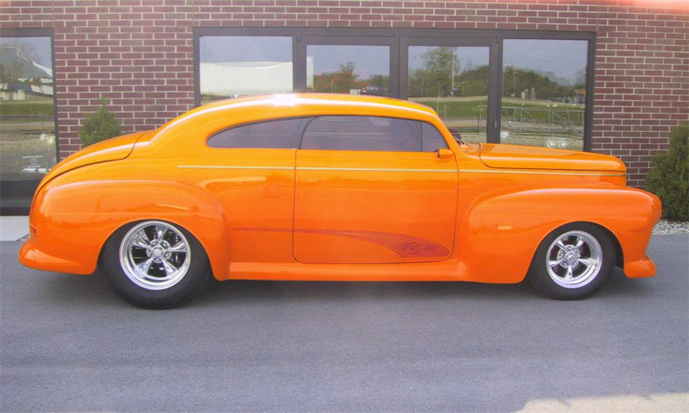 1948 FORD STREET ROD - Side Profile - 15788
