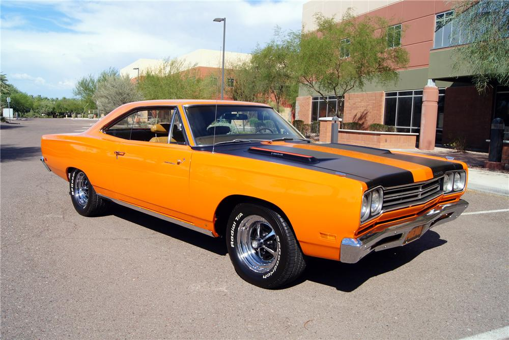 1969 PLYMOUTH ROAD RUNNER COUPE - Front 3/4 - 157883