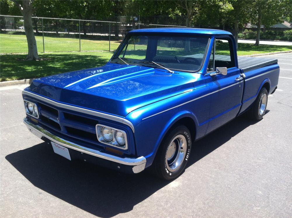 1972 GMC 1/2 TON CUSTOM PICKUP - Front 3/4 - 157885