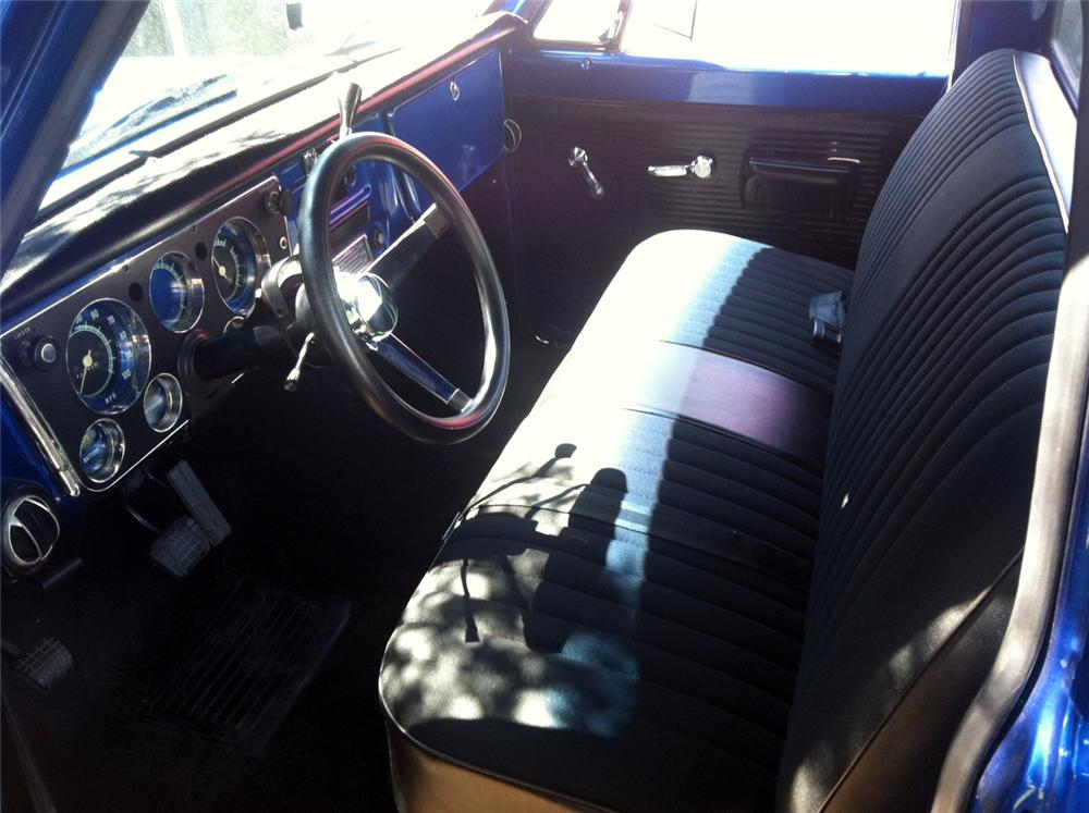 1972 GMC 1/2 TON CUSTOM PICKUP - Interior - 157885