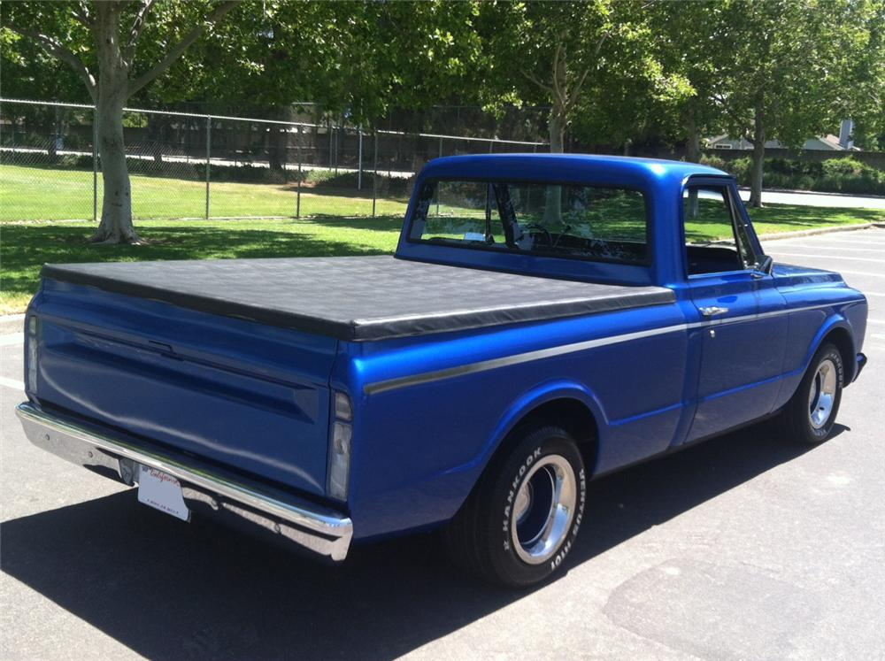 1972 GMC 1/2 TON CUSTOM PICKUP - Rear 3/4 - 157885