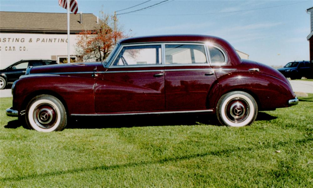 1952 MERCEDES-BENZ 4 DOOR HARDTOP - Rear 3/4 - 15789