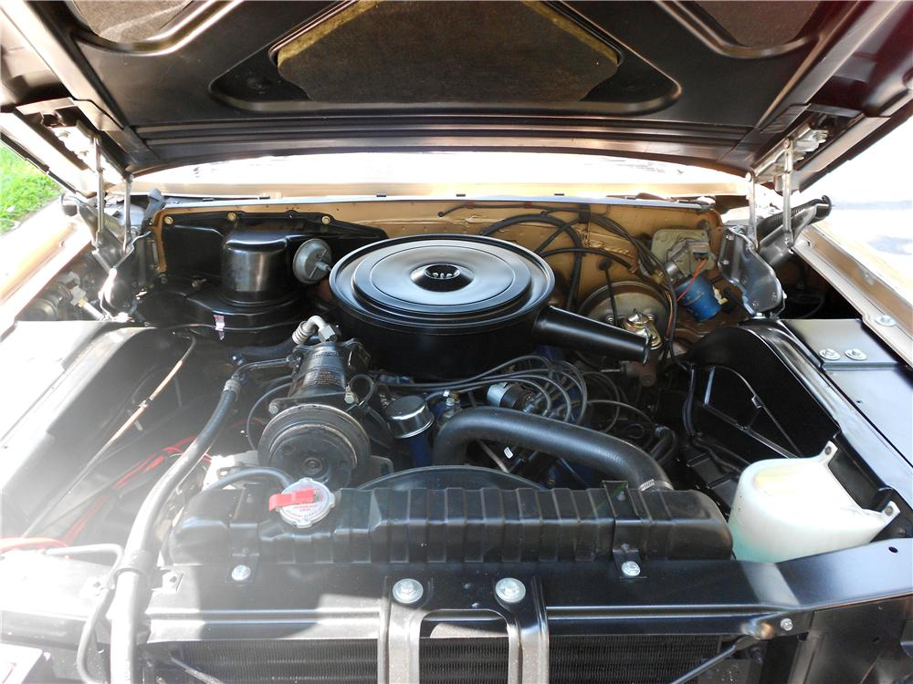 1963 CADILLAC SERIES 62 COUPE DE VILLE - Engine - 157897