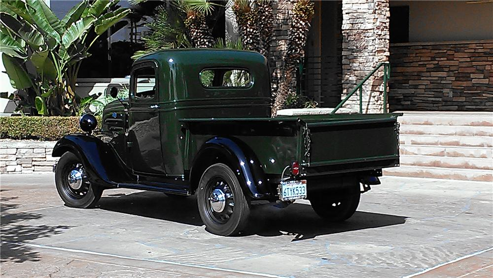 1936 CHEVROLET 1/2 TON PICKUP - Rear 3/4 - 157899