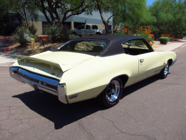 1970 BUICK GS455 2 DOOR HARDTOP - Rear 3/4 - 157900