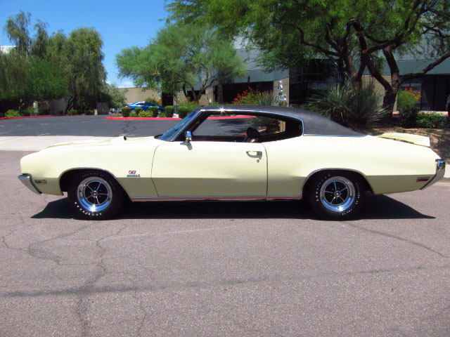 1970 BUICK GS455 2 DOOR HARDTOP - Side Profile - 157900