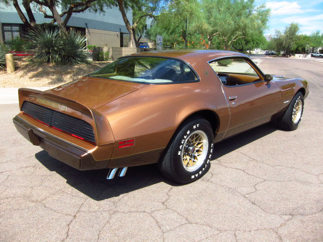 1979 PONTIAC FIREBIRD FORMULA 2 DOOR COUPE - Rear 3/4 - 157902
