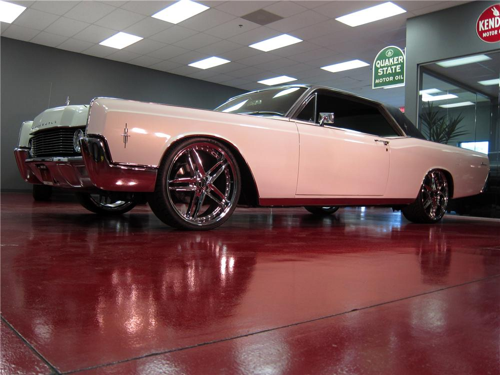 1966 LINCOLN CONTINENTAL 2 DOOR COUPE - Side Profile - 157903
