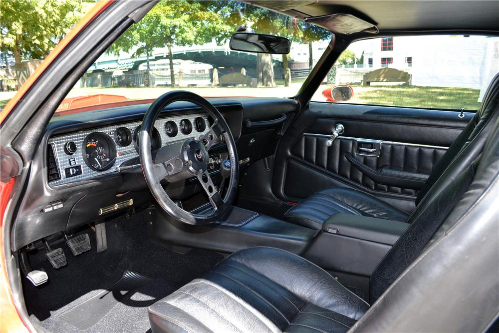 1978 PONTIAC FIREBIRD TRANS AM 2 DOOR COUPE - Interior - 157904