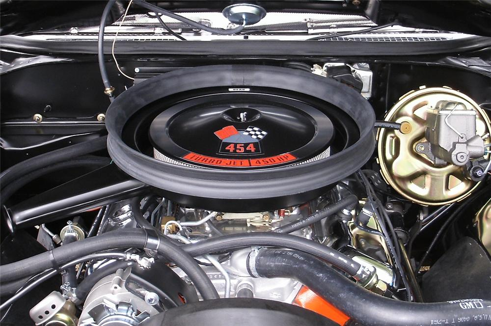 1970 CHEVROLET CHEVELLE SS LS6 CONVERTIBLE - Engine - 157906