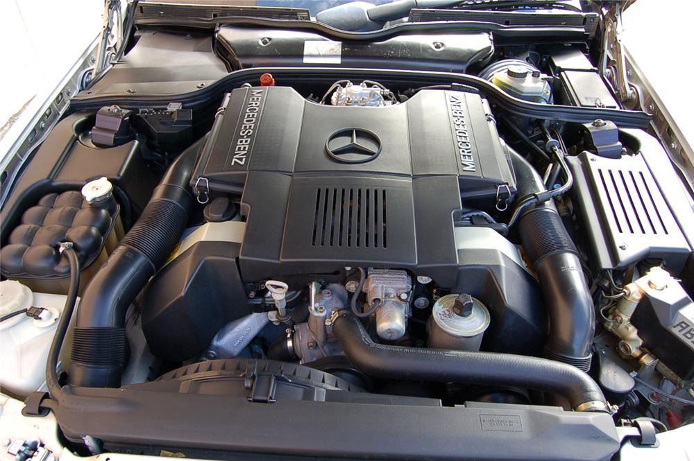 1991 MERCEDES-BENZ SL500 CONVERTIBLE - Engine - 157912