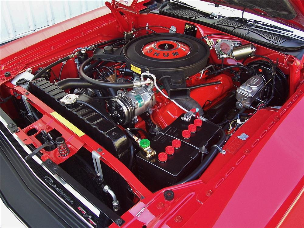 1970 DODGE CHALLENGER R/T 2 DOOR COUPE - Engine - 157914