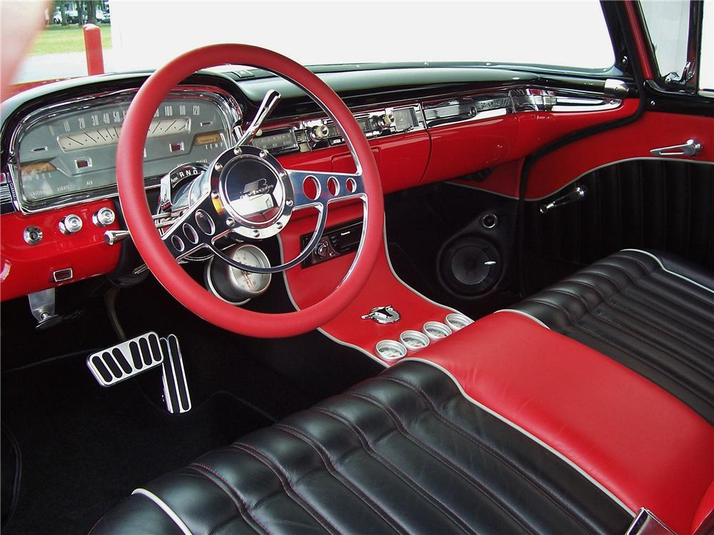 1959 FORD RANCHERO CUSTOM PICKUP - Interior - 157919