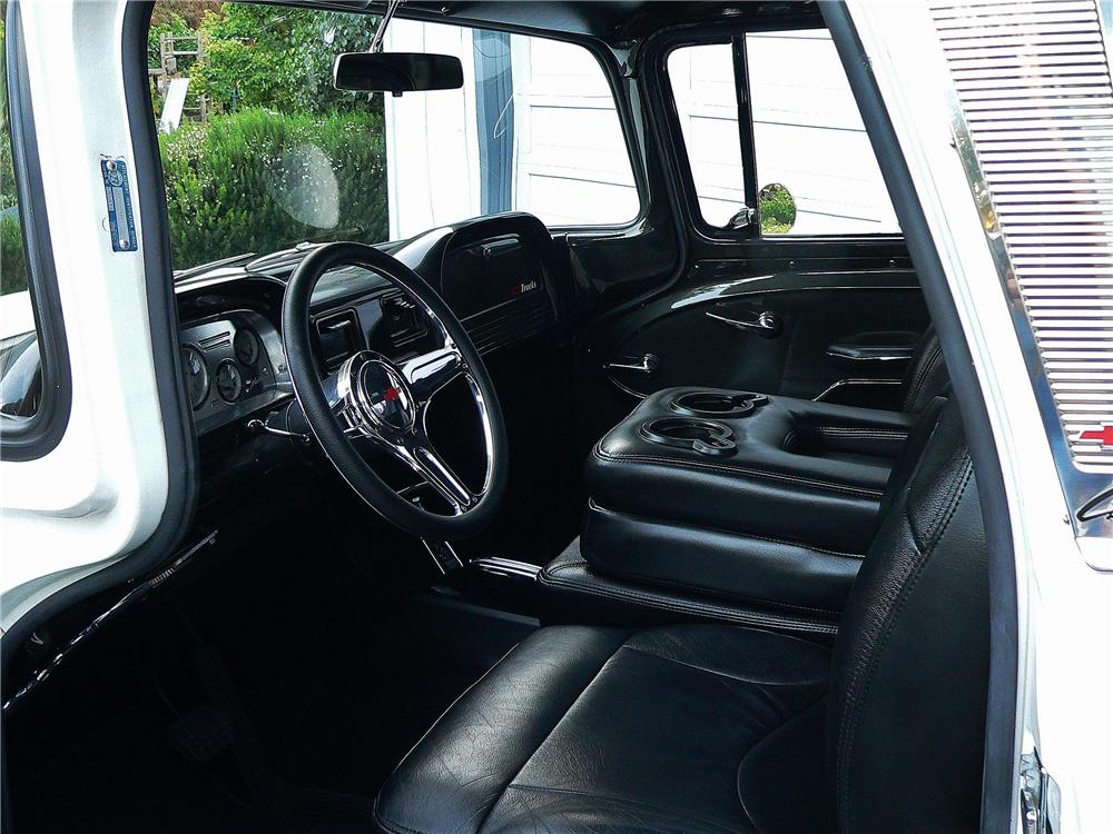1960 CHEVROLET C-10 CUSTOM PICKUP - Interior - 157922