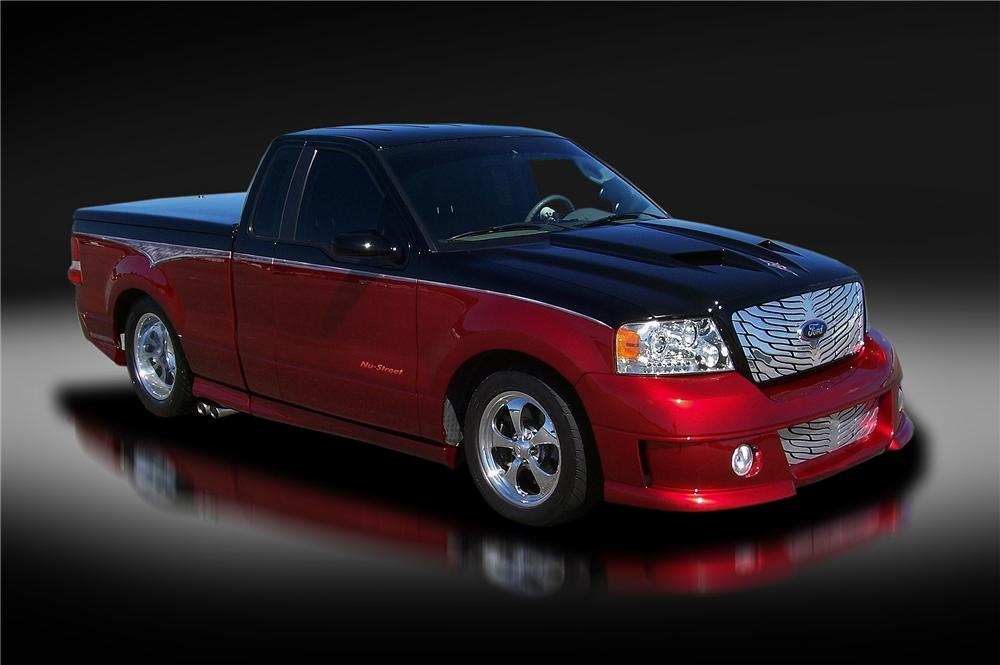 2006 FORD F-150 CUSTOM PICKUP - Front 3/4 - 157923