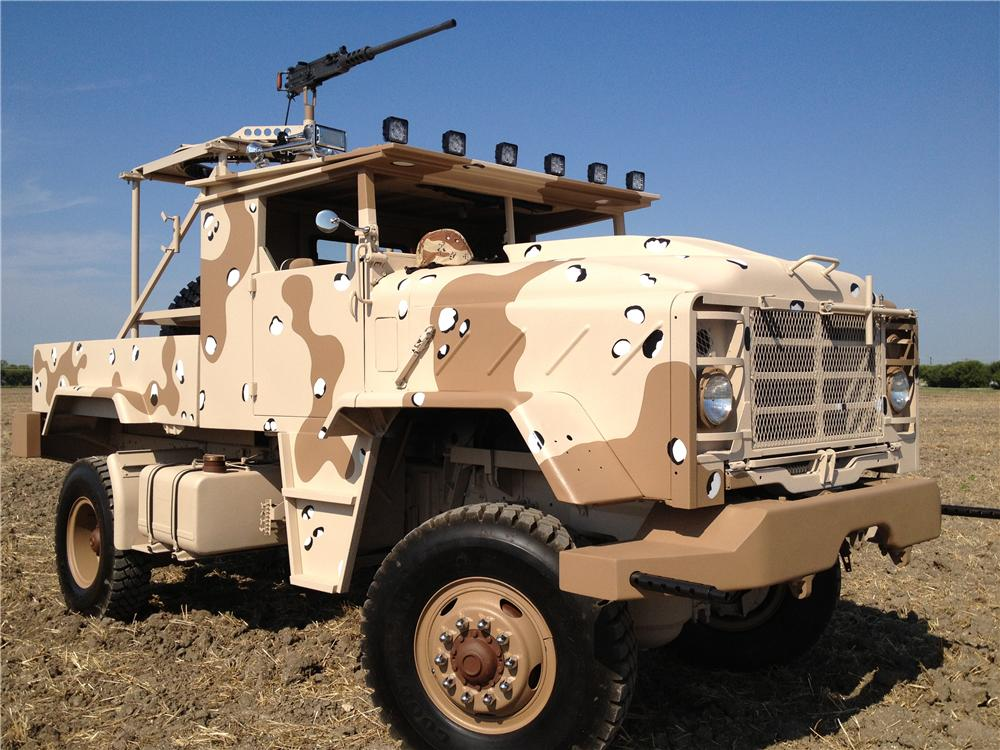1984 GMC CUSTOM MILITARY TRUCK - Front 3/4 - 157929