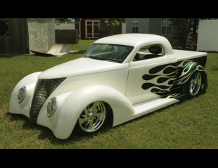 1937 FORD CUSTOM WILDROD PICKUP -  - 15793