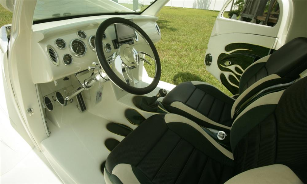 1937 FORD CUSTOM WILDROD PICKUP - Interior - 15793