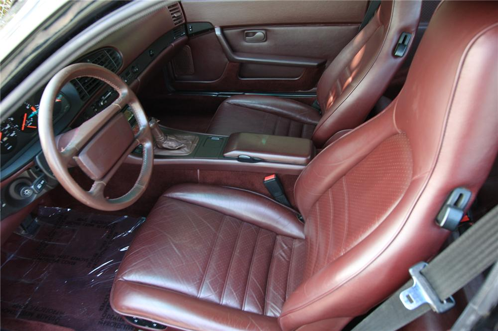 1986 PORSCHE TURBO 2 DOOR COUPE - Interior - 157939