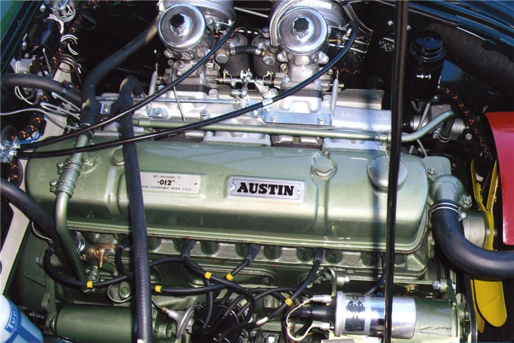 1964 AUSTIN-HEALEY 3000 MARK II BJ7 CONVERTIBLE - Engine - 157947
