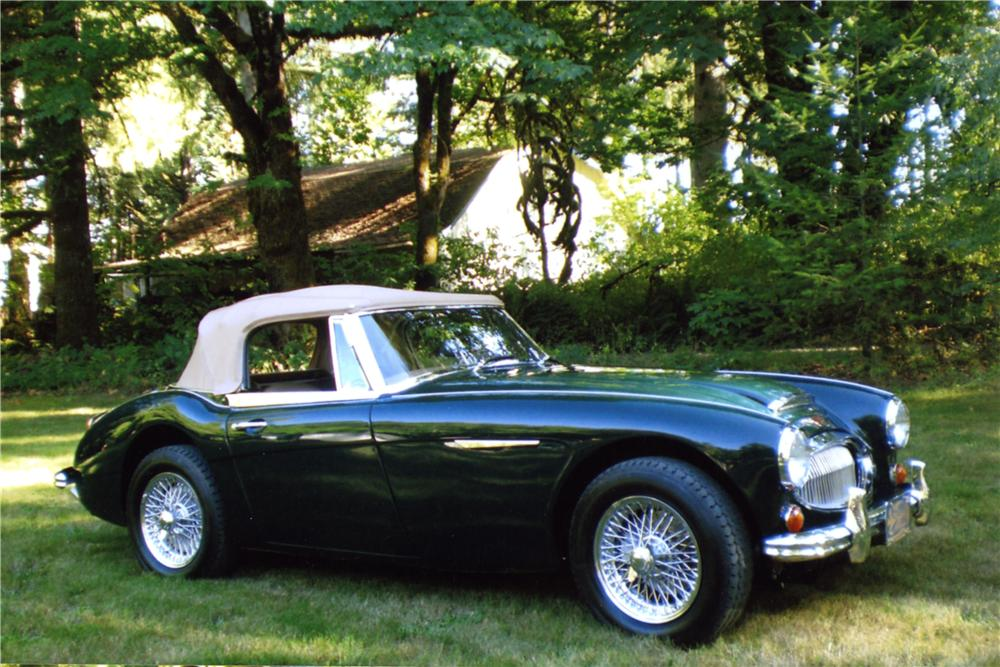 1964 AUSTIN-HEALEY 3000 MARK II BJ7 CONVERTIBLE - Front 3/4 - 157947