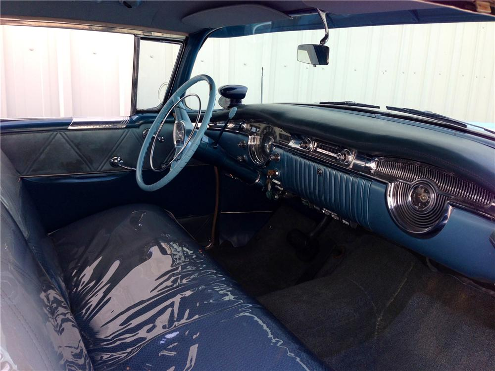 1954 OLDSMOBILE HOLIDAY 98 2 DOOR COUPE - Interior - 157952