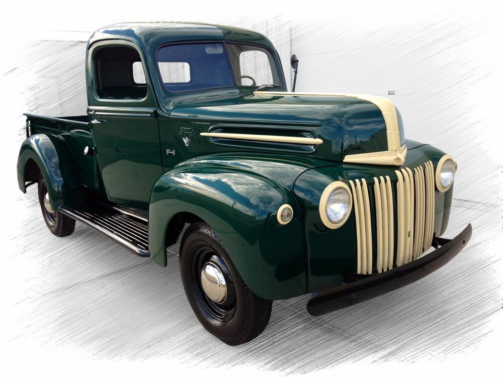 1947 FORD 1/2 TON PICKUP - Front 3/4 - 157953