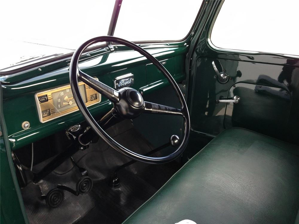 1947 FORD 1/2 TON PICKUP - Interior - 157953