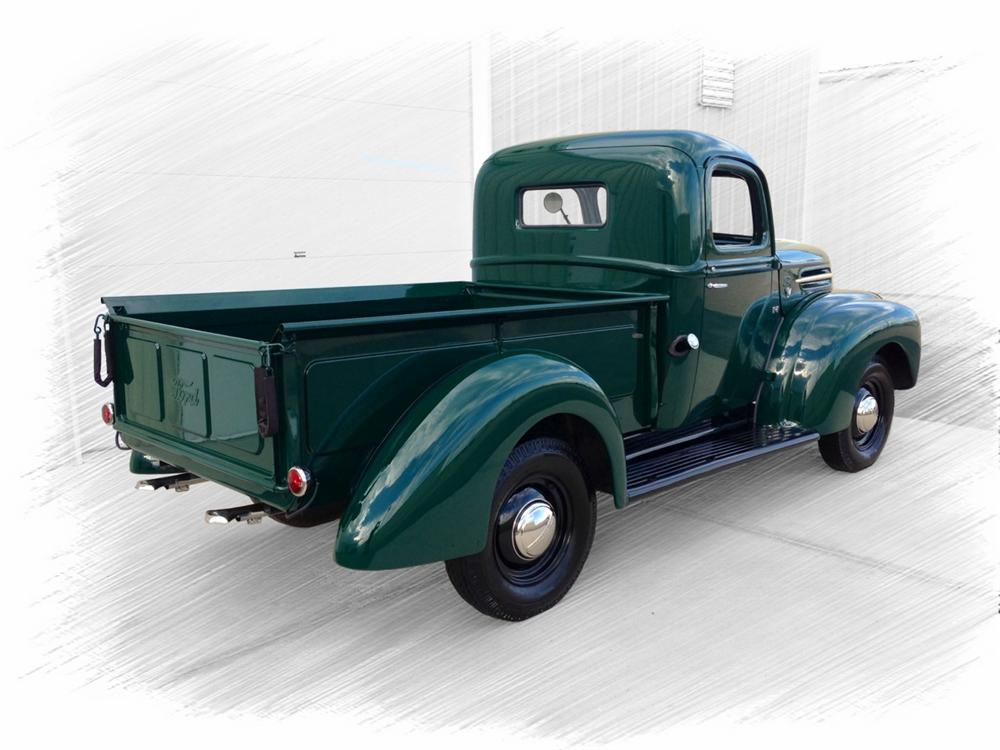 1947 FORD 1/2 TON PICKUP - Rear 3/4 - 157953