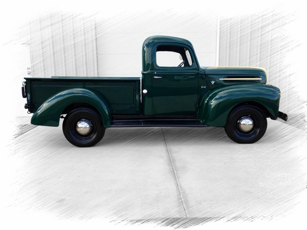 1947 FORD 1/2 TON PICKUP - Side Profile - 157953