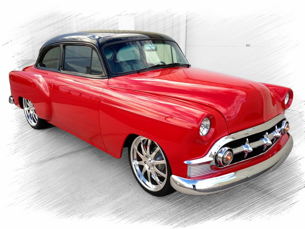 1953 CHEVROLET 210 CUSTOM 2 DOOR COUPE - Front 3/4 - 157954