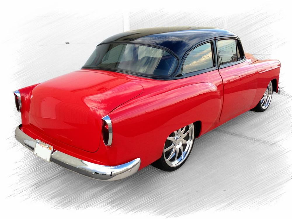 1953 CHEVROLET 210 CUSTOM 2 DOOR COUPE - Rear 3/4 - 157954