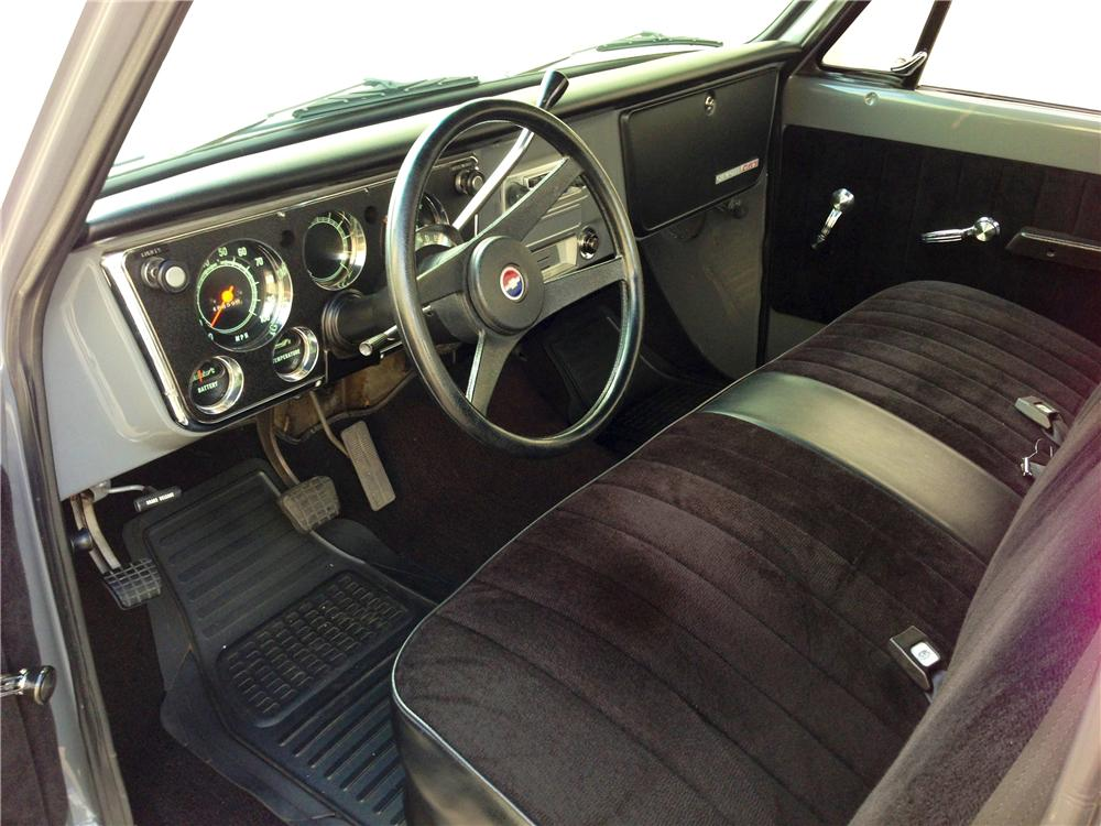 1972 CHEVROLET C-10 CUSTOM PICKUP - Interior - 157956