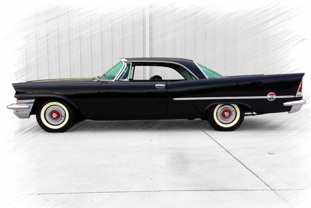 1957 CHRYSLER 300C 2 DOOR HARDTOP - Side Profile - 157957