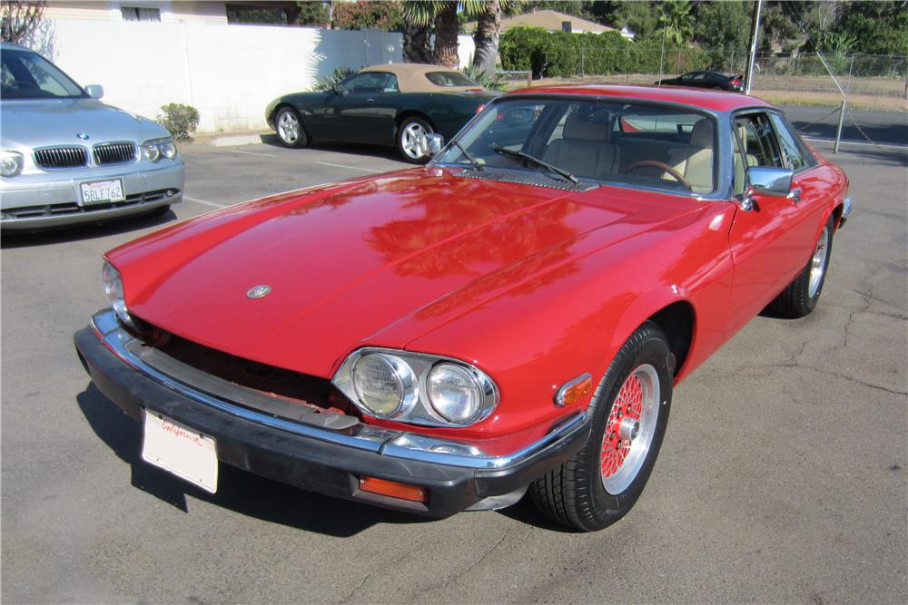 1989 JAGUAR XJS CUSTOM 2 DOOR COUPE - Front 3/4 - 157958